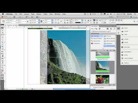 How To Work With Images in Adobe InDesign CS5