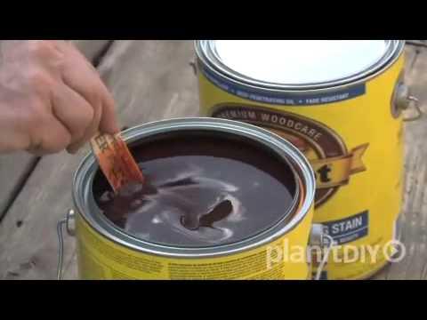 Deck Maintenance -- Sanding & Staining