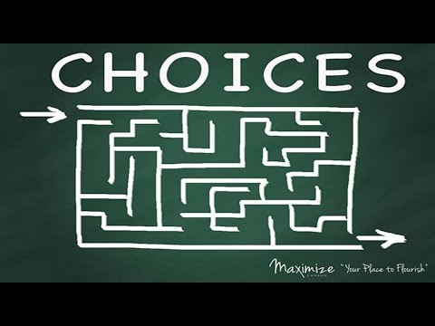 Choices - What would happen if... Maximize Church