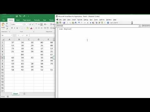 Replace Blank Cells with Zeros in Excel