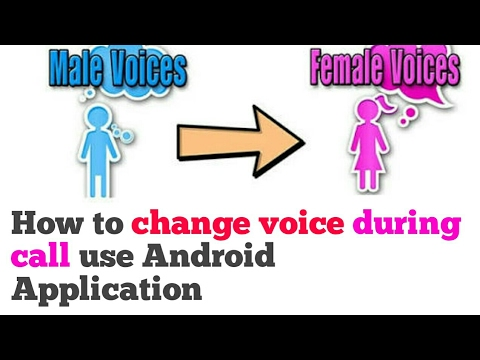 How to Change Voice Male to Female During Call || How to change voice Female to Male-[Hindi]