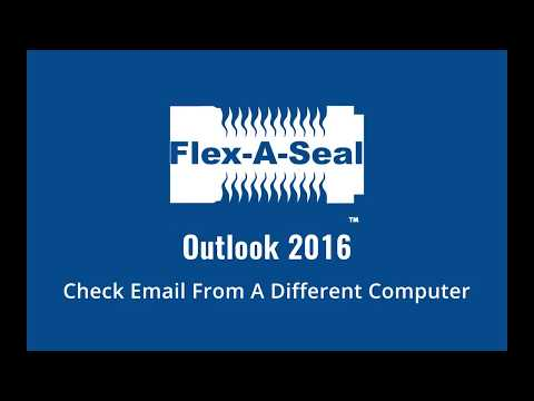 Outlook 2016 -  Check Email From A Different Computer
