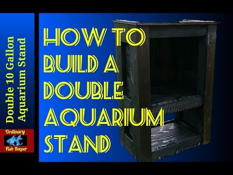 How to Build An Aquarium Stand - Ordinary Fish Keeper