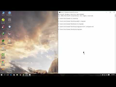 Write a C Program in minGW With Command Prompt