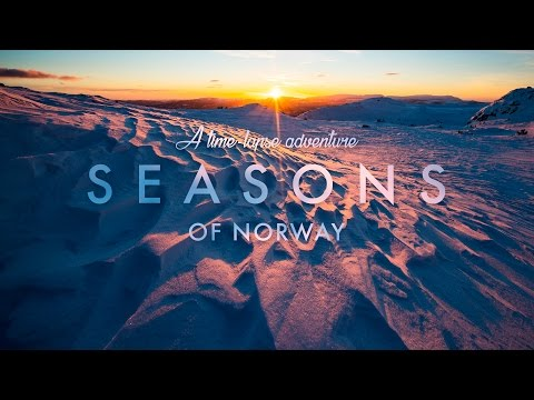 SEASONS of NORWAY - A Time-Lapse Adventure in 8K