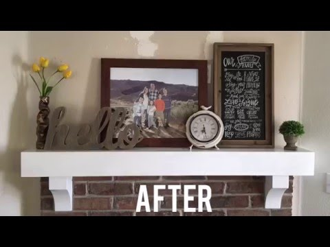 DIY: Updating the Mantel
