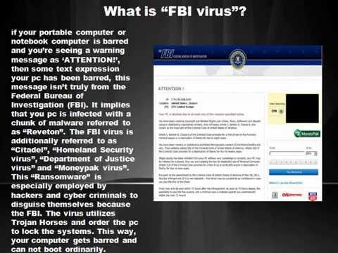 how to fix Fbi virus   Fbi virus removal support   888-465-3415