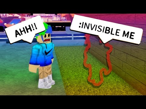 FUNNY ROBLOX ADMIN COMMANDS TROLLING! *INVISIBLE*