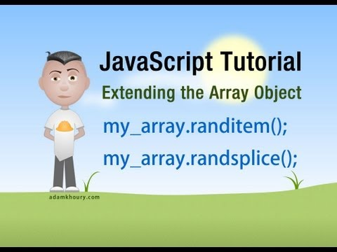 JavaScript Tutorial - Get Or Remove Random Array Elements