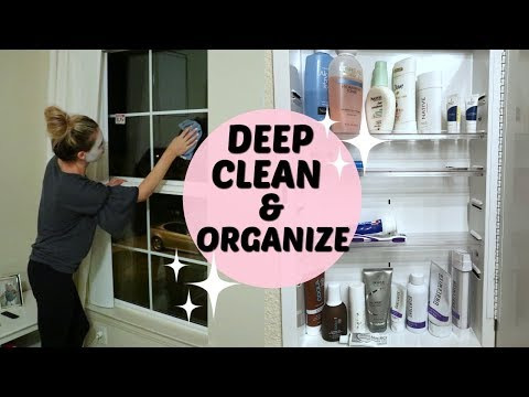 CLEAN WITH ME 2018   EXTREME CLEANING MOTIVATION   Tara Henderson