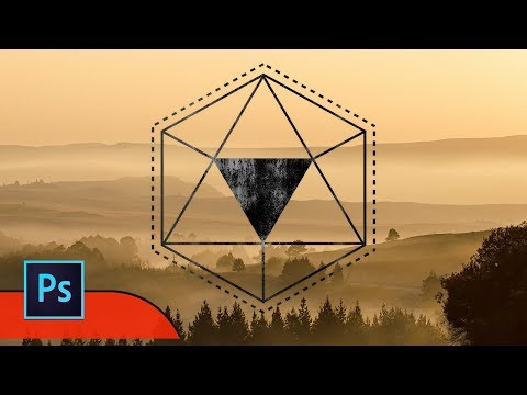 How to creat a Geometric Shape Effect in Photoshop