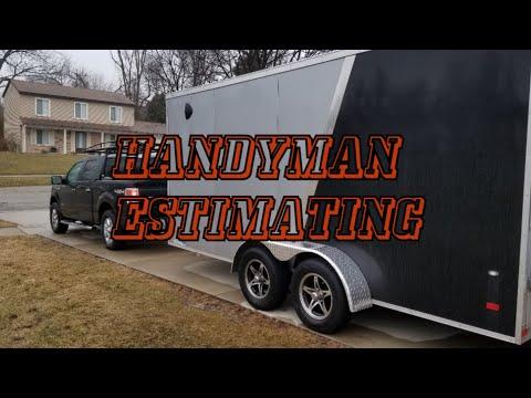 Handyman Estimating Process!