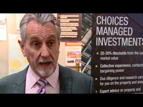 Steve Cubitt  - Choices. The Property Investor & Homebuyer Show - ExCel, London, UK