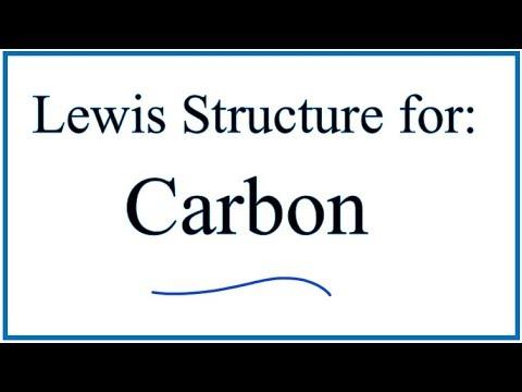 Lewis Dot Structure for Carbon (C)