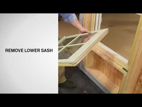 Sash Replacement on Andersen® E-Series® Double-Hung Windows