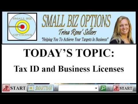 Tax ID & Business Licenses - SBO $MARTBAR