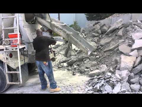 Anthonys Jackhammering removing concrete