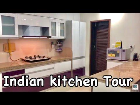 INDIAN KITCHEN TOUR | KITCHEN ORGANIZATION | UTENSILS ORGANISATION | Priya Vlogz