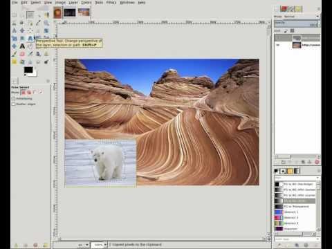 Seamless Cloning in GIMP Demo - Google Summer of Code 2011