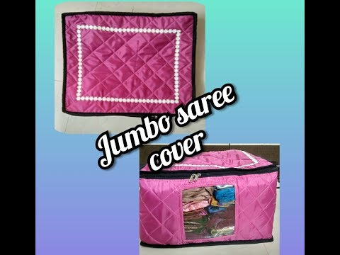 DIY Jumbo saree cover to make easily at home