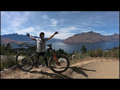 RIDING DOWNHILL MTB IN NEW ZEALAND!!