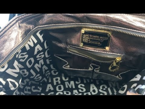MARC JACOBS BAG AT THE THRIFT STORE