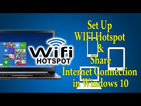 How to Set Up WIFI Hotspot And Share Internet Connection in Windows 10 Creators Update