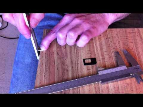 iPhone 5 Nano-SIM cutting from Micro-SIM or Mini-SIM