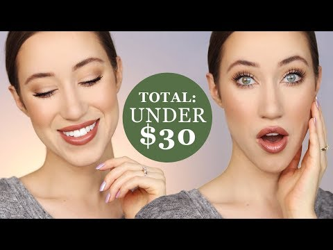 Full Face Under $30 Makeup Tutorial 😍