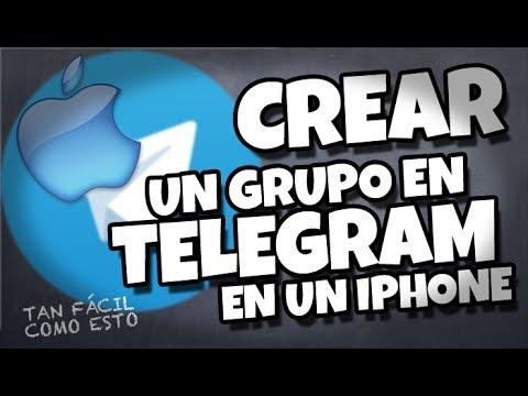 Cómo crear un grupo en Telegram con tu iPhone