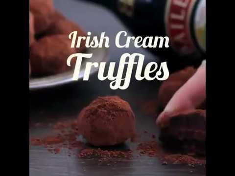 Tastemade   Irish Cream Chocolate Truffles Save this recipe