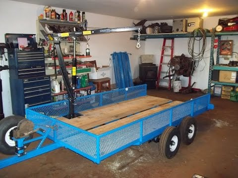 Truck bed crane MOUNTED!