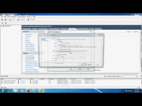 Synchronizing ESX/ESXi time with a Microsoft NTP Server
