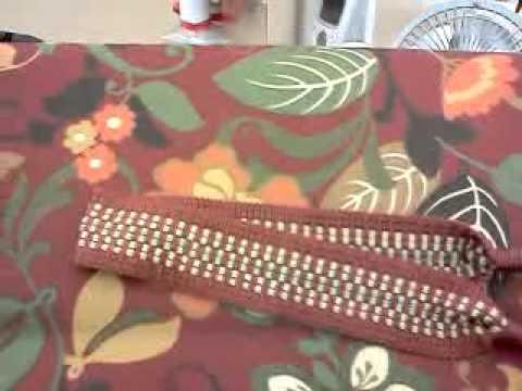 Tiebacks & Blackboard Fabric