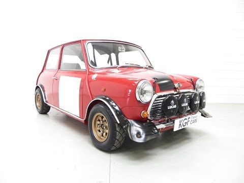 An Incredible Mk2 Mini Cooper S Rally Works Replica Fully Road Legal and Ready to Enjoy - SOLD!