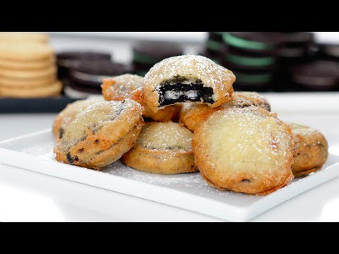 How to Make Deep Fried Oreos   Get the Dish