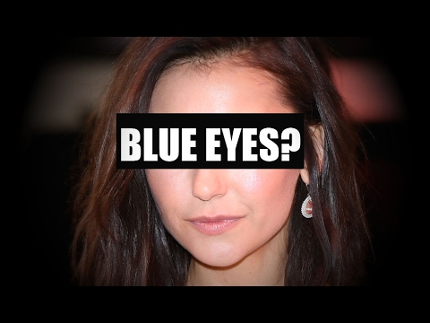 Blue-eyed Nina Dobrev | How would they look