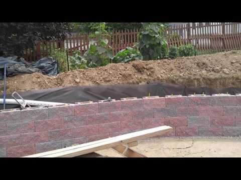 Hanover retaining wall hardscaping company - Ryan's Landscaping