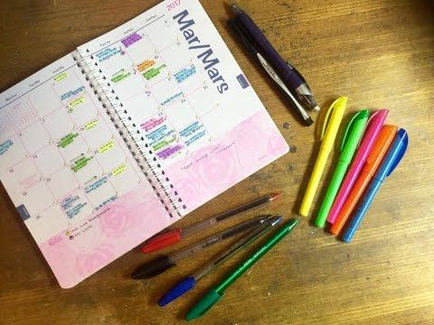 High School/College/Uni Series: In-depth planner/agenda organization!