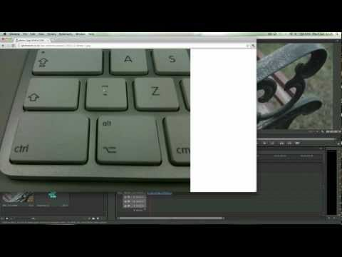 Adobe Premiere CS6: How to view full screen video playback (TUTORIAL)