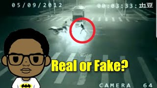 Angel Saves Man From Near Death! Caught on Video!
