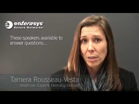 Visit Enterasys at this year's HIMSS Conference!