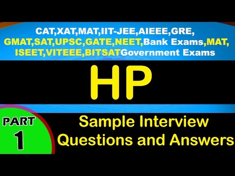 HP-1 Interview Questions and Answers Jobs,Videos-Freshers,Experienced,career