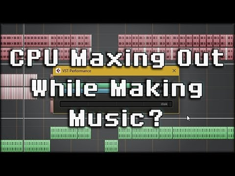 Optimize Your DAW & Project for Better CPU Performance