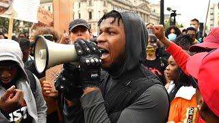 Watch John Boyega's POWERFUL Speech About Black Lives Matter Movement