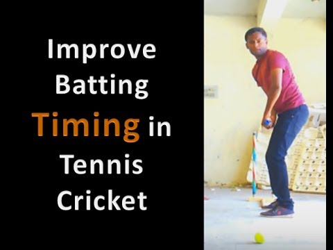 How To Improve Batting Timing In Tennis cricket |Tips For Improve Batting Skills At Home In Hindi