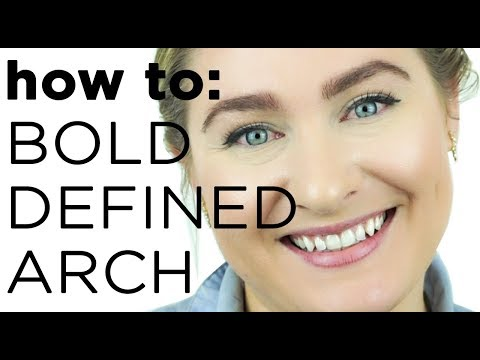 HOW TO GET THE PERFECT EYEBROW ARCH | Billion Dollar Brows