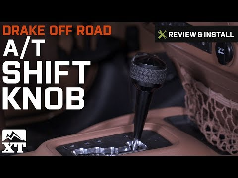 Jeep Wrangler Drake Off Road A/T Shift Knob (2011-2017 JK) Review & Install