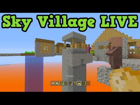 Minecraft Xbox One / PS4 Sky Village LIVE (TU26)
