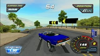 1080p Cruis'n Wii gameplay (fast and furious arcade wii port)